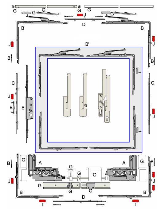 Chassis contact le specialiste des chassis for Chassis de toit roto